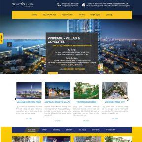 Thiết Kế Website Bất động Sản Các Dự án SBW14