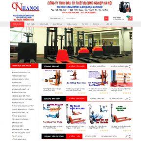 Website Bán Hàng Máy Móc Xe Nang SBW01