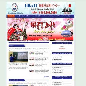 Website Trung Tâm Tiếng Nhật Ngoại Ngữ SBW46
