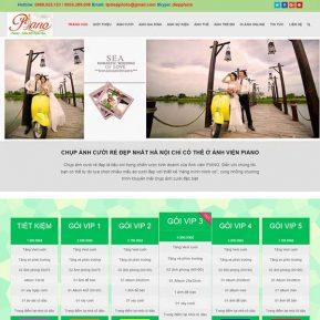 Website ảnh Viện áo Cưới Studio SBW35