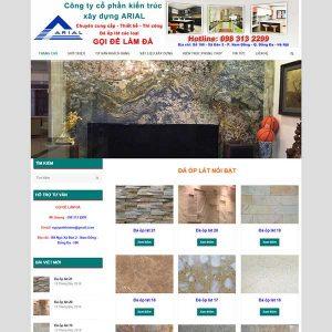 Website Thiết Kế Thi Công Làm đá ốp Lát SBW42