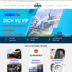 Website Dịch Vụ Làm Visa Trọn Gói Giá Rẻ SBW43