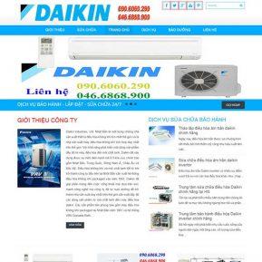 Website Giới Thiệu Dịch Vụ Sửa Chữa điều Hòa Daikin SBW32