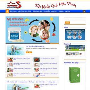 Website Tin Tức Dịch Vụ đẹp Nhẹ Dễ Dùng SBW29