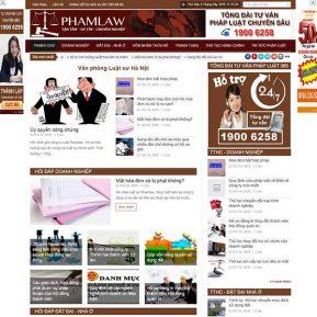 Website Tin Tức Tư Vấn Luật Pháp Hỏi đáp SBW34