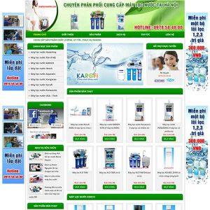 Website Bán Máy Lọc Nước Giá Rẻ SBW62