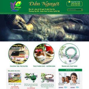 Website Bán đồ Phật Pháp Tâm Linh SBW64