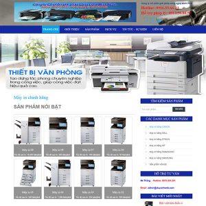 Website Giới Thiệu Và Bán Máy In Máy Photo SBW51