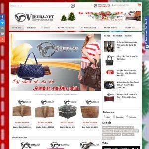 Website Bán Hàng Phụ Kiện Dây Lưng Túi Xách Da SBW54