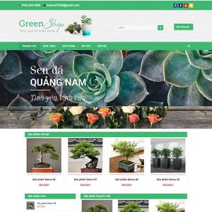 Website Bán Cây Cảnh SBW84