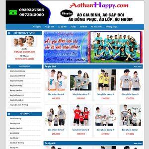 Website Thời Trang – đồng Phục SBW93