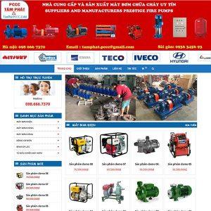 Website Bán Máy Bơm Nước PCCC SBW95