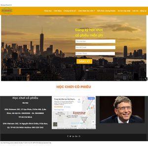 Website Tin Tức – Học Chơi Cổ Phiếu SBW100