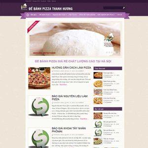 Website Làm Bánh Pizza SBW99