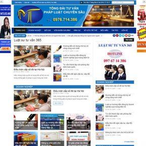 Website Tin Tức Giới Thiệu Công Ty SBW98