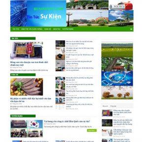 Website Tin Tức Thời Sự Sự Kiện SBW101