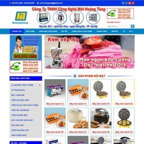 Website Giới Thiệu Bán Thiết Bị điện Hoàng Tùng SBW108