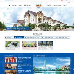 Website Bất động Sản SBW116