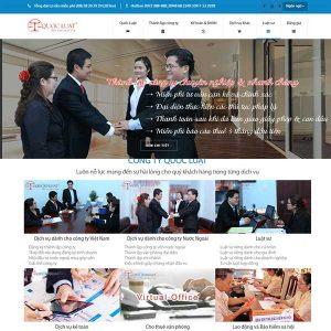 Website Công Ty Luật Thành Lập Doanh Nghiệp SBW118
