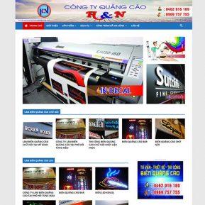 Website Làm Biển Quảng Cáo SBW114