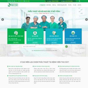 Mẫu Website Phòng Khám Bệnh Viện SBW129