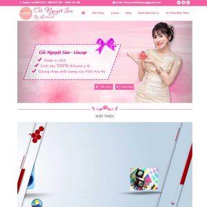 Website Giới Thiệu Sản Phẩm Cốc Nguyệt San SBW122