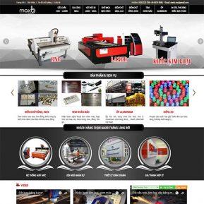 Mẫu Website Làm Biển Quảng Cáo Hút Nổi MICA SBW147