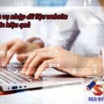 Dịch vụ nhập liệu website chuyên nghiệp uy tín nhanh chóng
