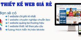 Thiết Kế Website Giá Rẻ Chuẩn Seo Chuẩn Mobile 100%
