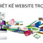 Thiết kế website trọn gói toàn quốc bảo hành vĩnh viễn