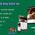 Thiết kế website khách sạn chuyên nghiệp và đẳng cấp
