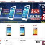 Thiết kế website bán điện thoại di động chuyên nghiệp hiệu quả