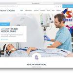 Thiết kế website bệnh viện, Phòng khám chuyên nghiệp uy tín