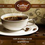 Thiết kế website cà phê đẹp sang trọng và ấn tượng