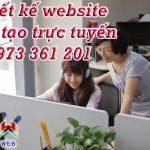 Thiết kế website dạy học trực tuyến – Đào tạo online chuyên nghiệp