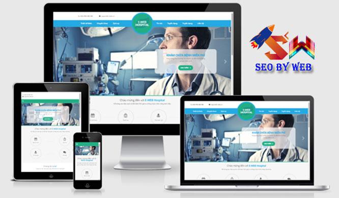 Thiết kế website phòng khám