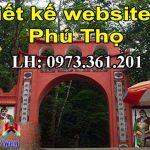 Thiết kế website tại Phú Thọ chuyên nghiệp giá rẻ nhất thị trường