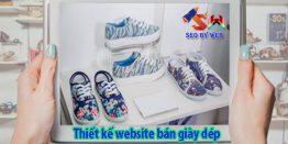 Làm Trang Web Bán Giày Dép Online