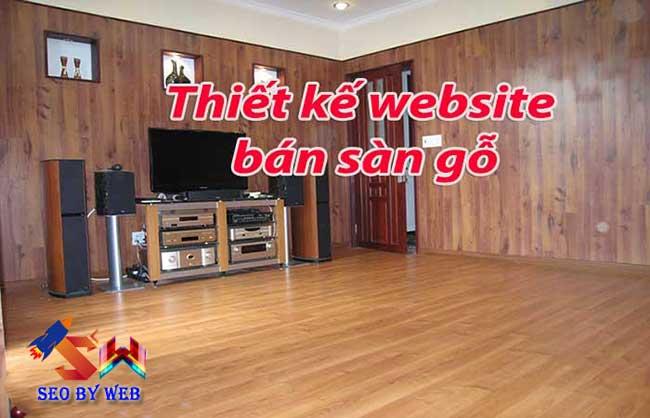 làm website bán sàn gỗ