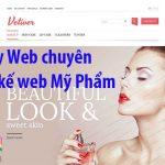 Thiết kế website bán mỹ phẩm online hiệu quả chuyên nghiệp