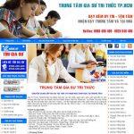 Thiết kế website gia sư giải pháp giới thiệu trung tâm gia sư hiệu quả