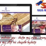 Thiết kế website spa đẹp – Giao diện ấn tượng và phong cách