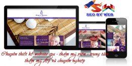Thiết Kế Website Spa đẹp