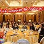 Dịch vụ thiết kế website tổ chức sự kiện hiệu quả chuẩn seo đẹp