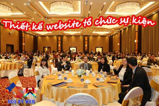Dịch vụ thiết kế website tổ chức sự kiện