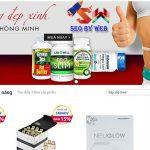 Thiết kế website thực phẩm chức năng giá rẻ chuyên nghiệp nhất