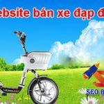 Thiết kế website bán xe đạp điện chuẩn seo hiện đại nhất 2018