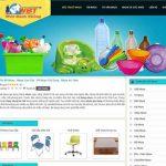 Thiết kế website bán đồ nhựa online cao cấp giá rẻ