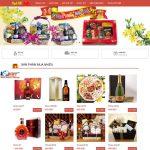 Thiết kế website bán hàng tết – Bánh kẹo – Mứt tết uy tín