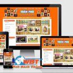 Thiết kế website bán khung tranh ảnh chuyên nghiệp uy tín